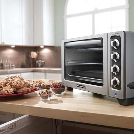 "KitchenAid 12"" Countertop Oven (Stainless Steel) 1"