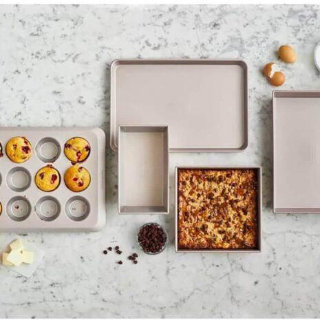 KitchenAid Bakeware 5 Piece Set (Warm Stardust) 1