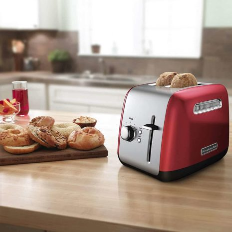 KitchenAid 2 Slice Toaster (Empire Red)