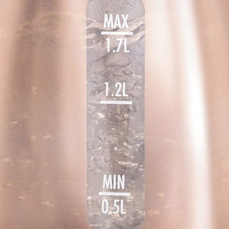Hamilton Beach 1.7l Cordless copper Glass Electric Kettle