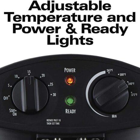 Dominion Appliances - Hamilton Beach Professional Grade Electric Deep Fryer