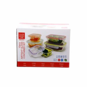 Cook Prep Glass Container Set 10pc