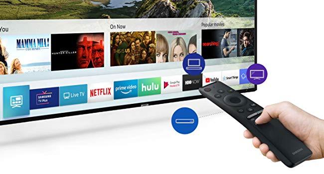 Samsung Flat 55-Inch 4K UHD Smart TV
