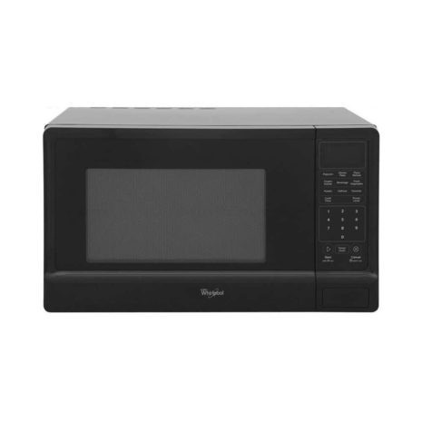 1.1cft Whirlpool Microwave black