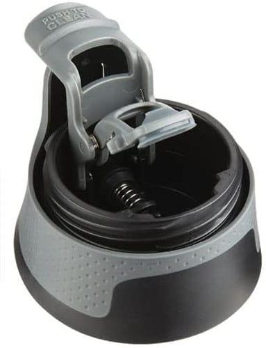 Vacuum-Insulated Stainless Steel Travel Mug - Black 2034153