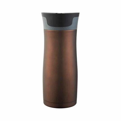 Stainless Steel Travel Mug - Transparent Matte Latte