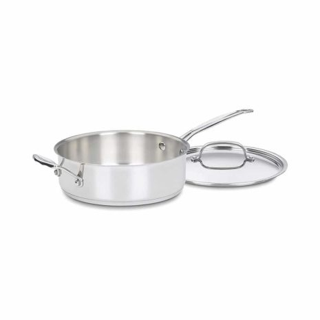 Cuisinart Chef's Classic Stainless 10-Piece Cookware Set - Silver
