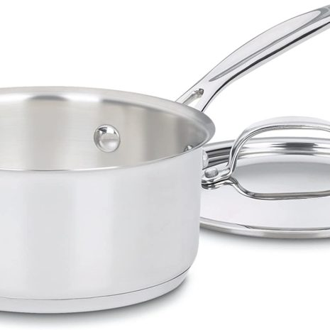 Cuisinart Chef's Classic Stainless 7-Piece Cookware Set - Silver