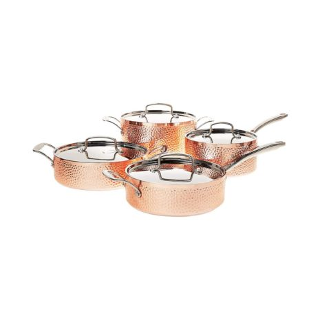 Cuisinart Hammered Collection Cookware Set - Copper