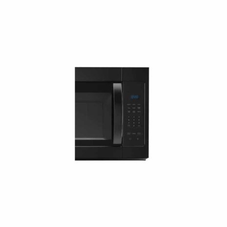 1.7 Whirlpool Microwave Hood Combo, Black