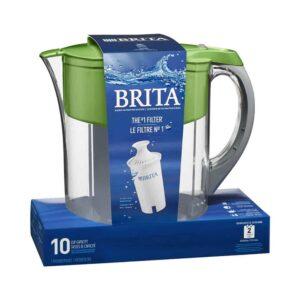 Brita 10 Cup Water Filter Pitcher - Green