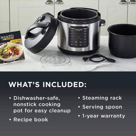 Crock-Pot Express Crock Multi-Cooker, Stainless Steel