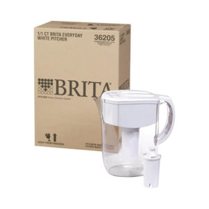 Brita Water Pitcher with 1 Filter, 5 Cup - Red