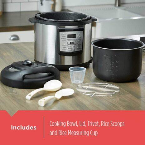 BLACK+DECKER 6-quart Pot, Pressure Cooker