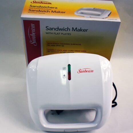 Sunbeam Sandwich Maker with Flat Plates