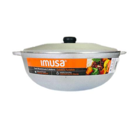 IMUSA Traditional Aluminium Caldero Cookware with cover