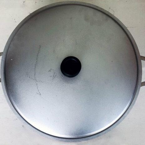 Caldero Cookware with cover, 17.9 Quart - Silver
