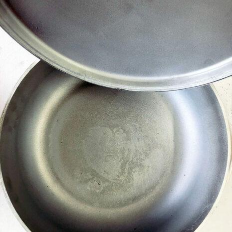 Caldero Cookware With Cover, 26.8 Quart - Silver