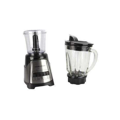 Hamilton Beach Blender With 5 Cup Glass Jar and 3-Cup Chopper - Black4