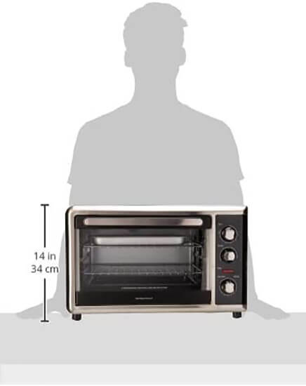 Hamilton Beach Countertop Oven with Convection and Rotisserie8