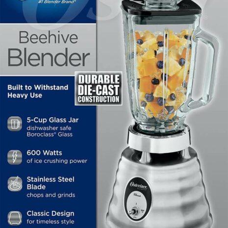 Oster 4655 blender, Retro Chrome 3 speed1