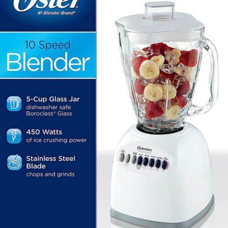 Oster 14-Speed Glass Jar Blender