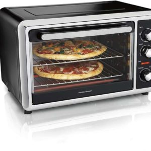 Hamilton Beach Countertop Oven with Convection and Rotisserie5