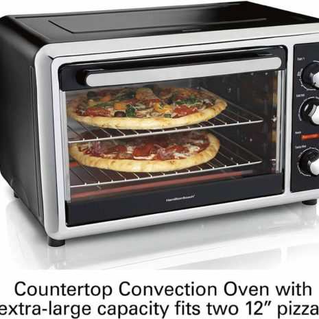 Hamilton Beach Countertop Oven with Convection and Rotisserie3