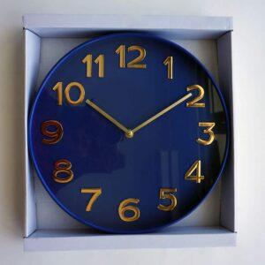"Analog Clock 12"", Blue,"