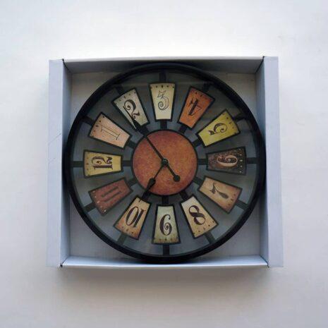 "Analog Clock 12"", Multi-coloured"