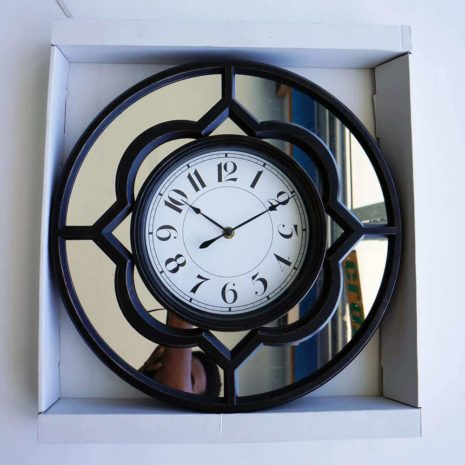 Analog Clock Brown