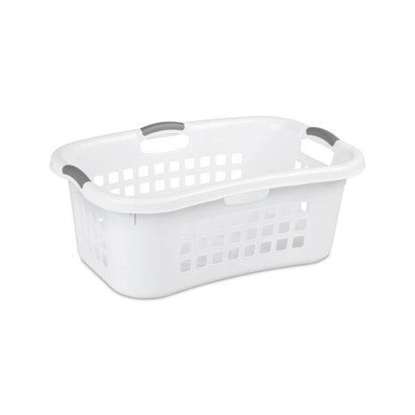 Sterilite 1.5 Bushel laundry basket, White2
