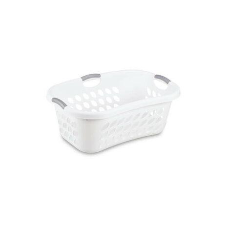 Sterilite 1.5 Bushel laundry basket, White