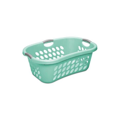 Sterilite 1.25 Bushel Ultra Hiphold Laundry Basket, Aqua