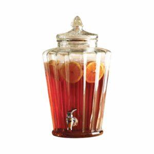 Circleware Crown Dispenser and Glass Lid