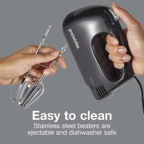 Proctor Silex 5 Speed Easy Mix Electric Hand Mixer - Black