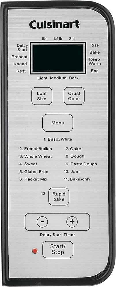 Cuisinart Convection Bread Maker - Silver