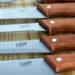Gibson Broadleaf 10-Piece Knife Set with Pine Wood Cutting Board