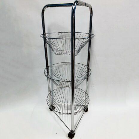 Briana Housewares 3 tier Round Cart
