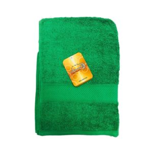 Letonia Home Collection Towel Small, Green