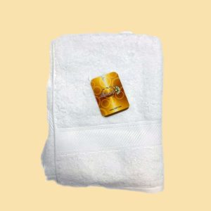 Letonia Home Collection Towel Small - White