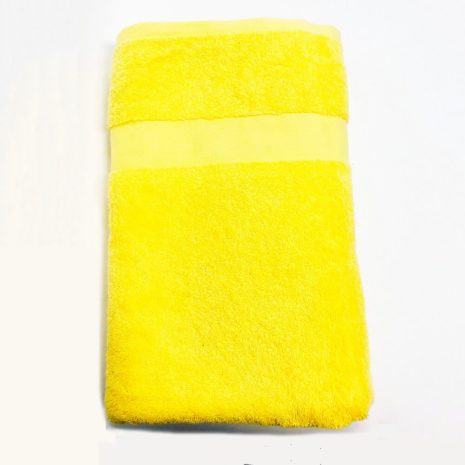 Letonia Home Collection Towel Small - Mustard