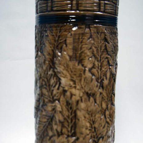 Brown Ceramic Vase 24 Inches
