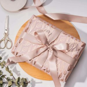 Gold Gift Wrap