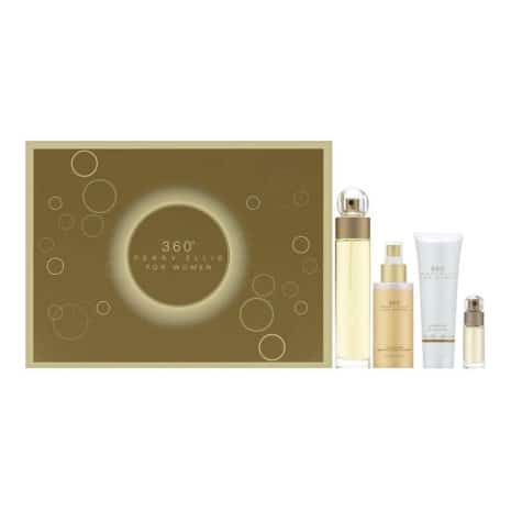 Perry Ellis Fragrances 360 for Women: 4-piece Gift Set