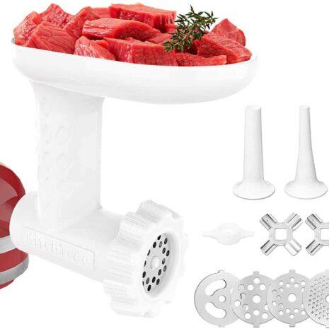 KitchenAid Food Grinder Attachment - One Size - White