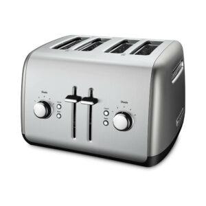 KitchenAid 4-Slice Toaster - Contour Silver