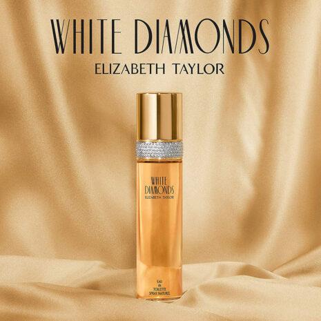 Elizabeth Taylor White Diamonds, Perfume for Women, 3.3 Ounce
