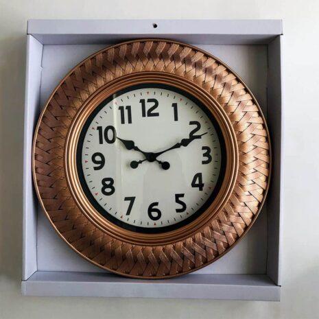 Wall Clock - Gold