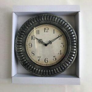 Modern Frame Clock - Silver